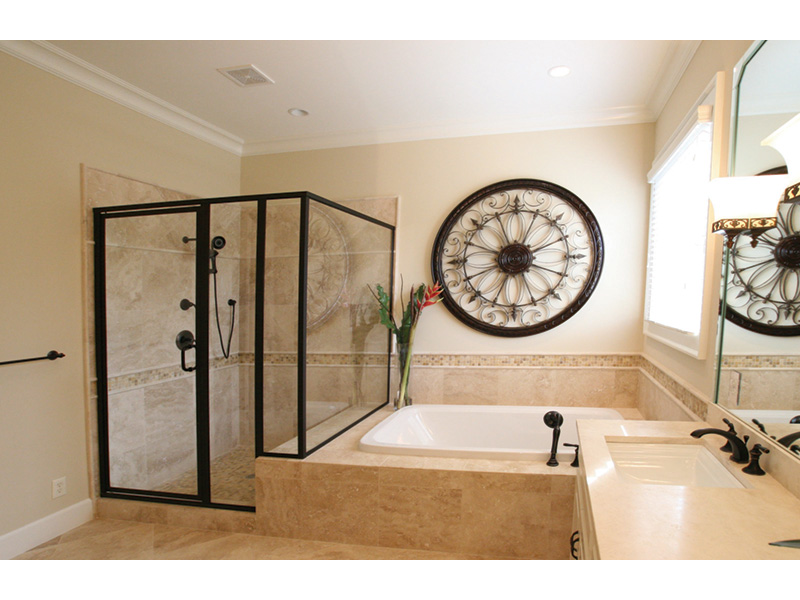 Acadian House Plan Master Bathroom Photo 04 - Damascus Southern Country Home 024D-0797   House Plans and More