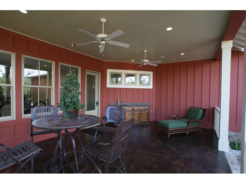 Acadian House Plan Outdoor Living Photo 01 - Damascus Southern Country Home 024D-0797   House Plans and More