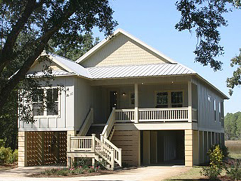 Lake House Plan Front Photo 01 - 024D-0839 | House Plans and More