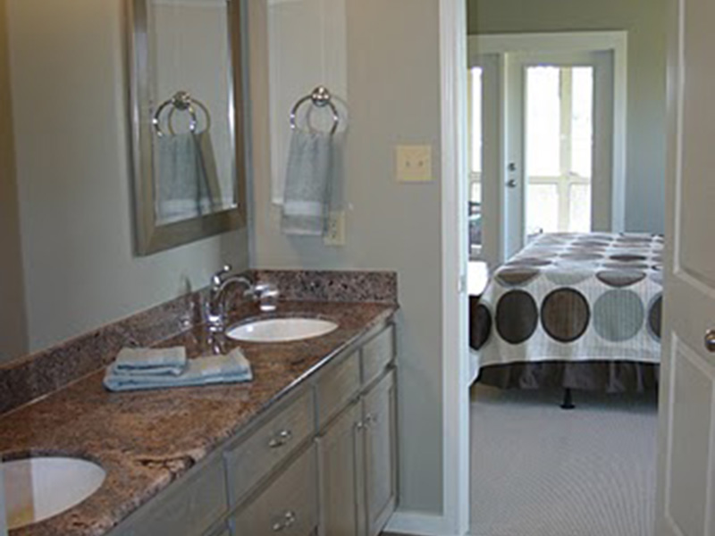 Lake House Plan Master Bathroom Photo 01 - 024D-0839 | House Plans and More