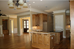 Ranch House Plan Kitchen Photo 03 -  024D-0817 | House Plans and More