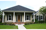 Cabin & Cottage House Plan Front of Home - 024D-0818 | House Plans and More
