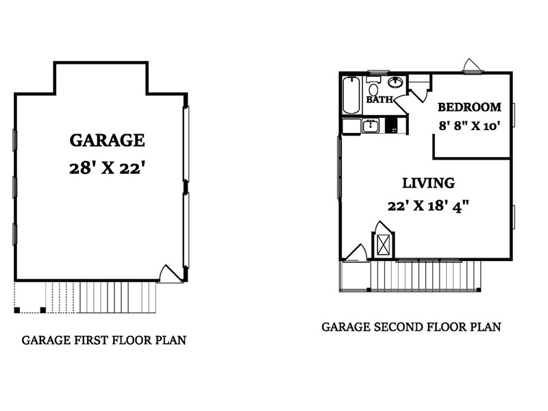 Garage Photo - 024D-0820 | House Plans and More
