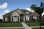 Ranch House Plan Front Photo 01 -  024D-0822 | House Plans and More