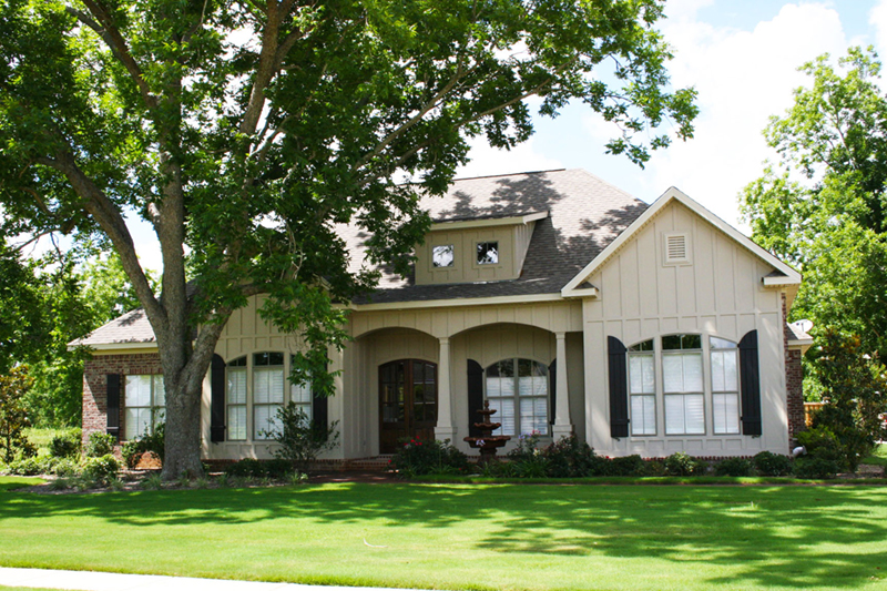 Front of Home -  024D-0825 | House Plans and More