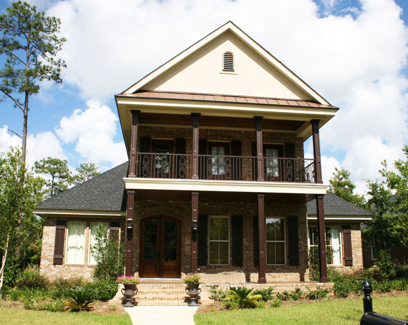 Lowcountry House Plan Front of Home - 024D-0827 | House Plans and More