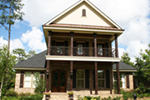 Rustic Home Plan Front of House 024D-0827