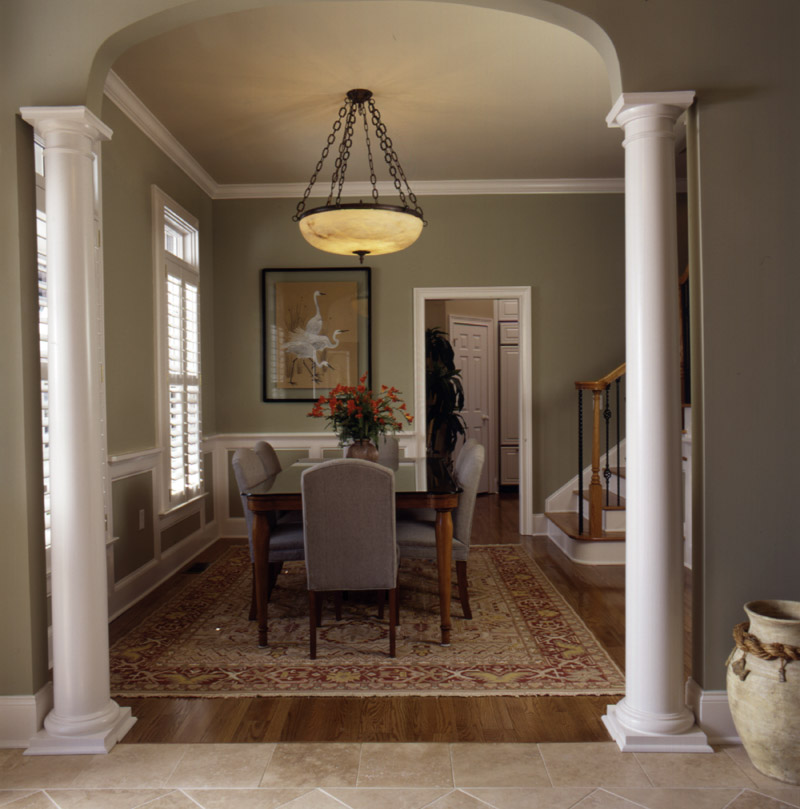 Arts & Crafts House Plan Dining Room Photo 01 - Heritage Manor Southern Home 024S-0001 | House Plans and More