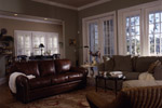 Southern House Plan Family Room Photo 02 - Heritage Manor Southern Home 024S-0001 | House Plans and More