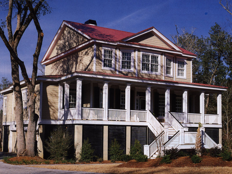 Southern House Plan Front Photo 03 - Heritage Manor Southern Home 024S-0001 | House Plans and More