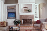 Arts & Crafts House Plan Living Room Photo 01 - Heritage Manor Southern Home 024S-0001 | House Plans and More