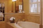 Arts & Crafts House Plan Master Bathroom Photo 02 - Heritage Manor Southern Home 024S-0001 | House Plans and More