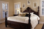 Arts & Crafts House Plan Master Bedroom Photo 01 - Heritage Manor Southern Home 024S-0001 | House Plans and More