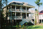 Adobe House Plans & Southwestern Home Design Front Photo 04 - Seabrook Southern Home 024S-0011   House Plans and More