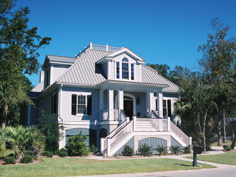 Wests Southern Luxury Home Plan 024S-0012 | House Plans ... on raised floor house plans, raised porch house plans, raised low country house plans, raised beach house plans coastal, raised waterfront house plans, raised cottage house plans,