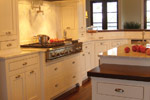 Lowcountry House Plan Kitchen Photo 01 - Burkitt Raised Luxury Home 024S-0022   House Plans and More