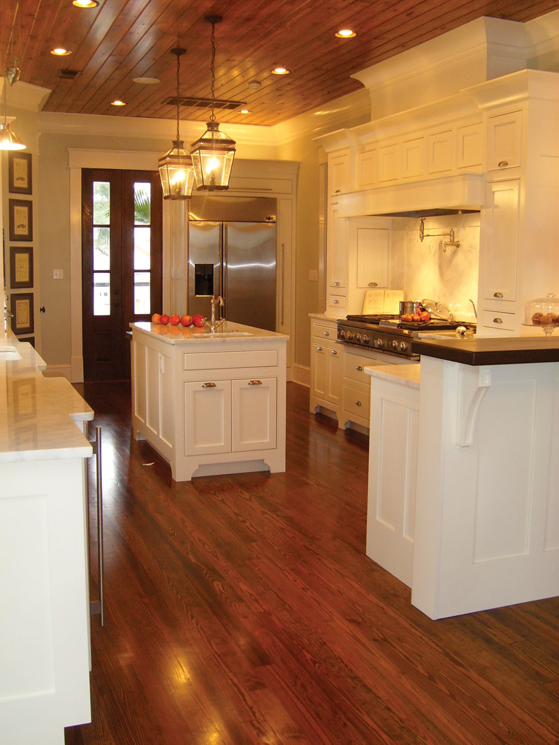Lowcountry House Plan Kitchen Photo 05 - Burkitt Raised Luxury Home 024S-0022   House Plans and More