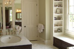 Lowcountry House Plan Master Bathroom Photo 01 - Burkitt Raised Luxury Home 024S-0022   House Plans and More