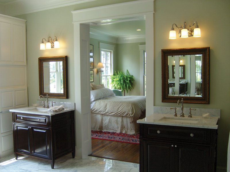 Lowcountry House Plan Master Bathroom Photo 02 - Burkitt Raised Luxury Home 024S-0022   House Plans and More