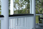 Lowcountry House Plan Porch Photo 02 - Burkitt Raised Luxury Home 024S-0022   House Plans and More