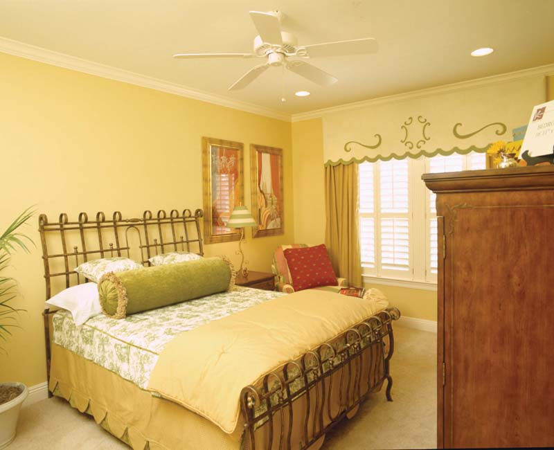 Colonial House Plan Bedroom Photo 03 - Prentiss Manor Colonial Home 024S-0023 | House Plans and More