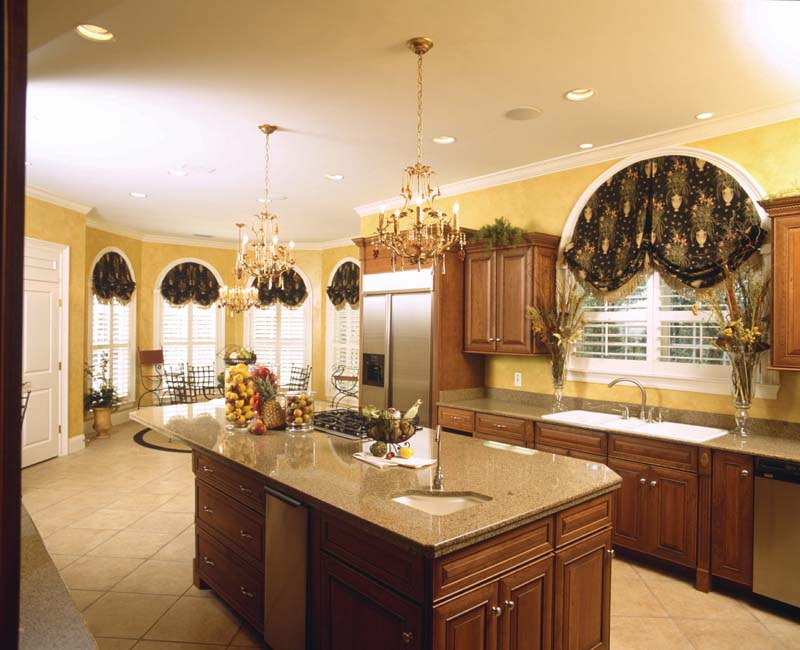Colonial House Plan Kitchen Photo 01 - Prentiss Manor Colonial Home 024S-0023 | House Plans and More