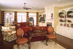 Colonial House Plan Living Room Photo 01 - Prentiss Manor Colonial Home 024S-0023 | House Plans and More