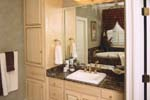 Colonial House Plan Master Bathroom Photo 01 - Prentiss Manor Colonial Home 024S-0023 | House Plans and More