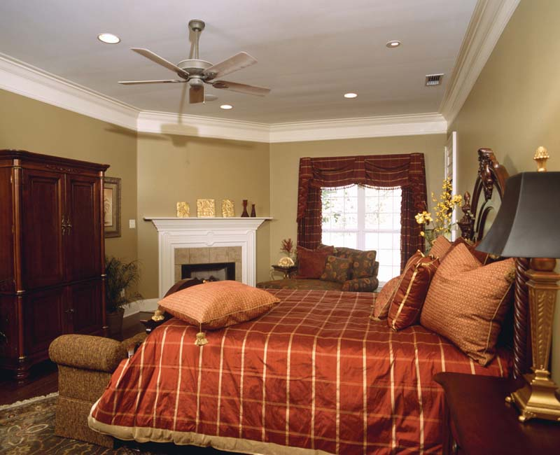Colonial House Plan Master Bedroom Photo 01 - Prentiss Manor Colonial Home 024S-0023 | House Plans and More