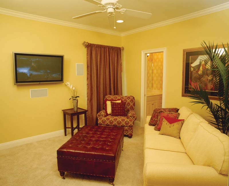 Colonial House Plan Media Room Photo 01 - Prentiss Manor Colonial Home 024S-0023 | House Plans and More