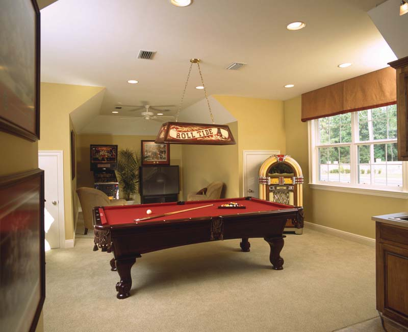 Colonial House Plan Recreation Room Photo 01 - Prentiss Manor Colonial Home 024S-0023 | House Plans and More