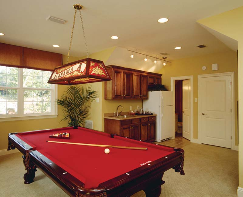 Colonial House Plan Recreation Room Photo 02 - Prentiss Manor Colonial Home 024S-0023 | House Plans and More