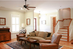 Traditional House Plan Living Room Photo 04 - Hamilton Creek Green Home 024S-0024 | House Plans and More
