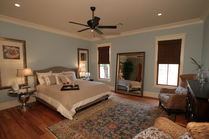 Traditional House Plan Master Bedroom Photo 01 - Hamilton Creek Green Home 024S-0024 | House Plans and More