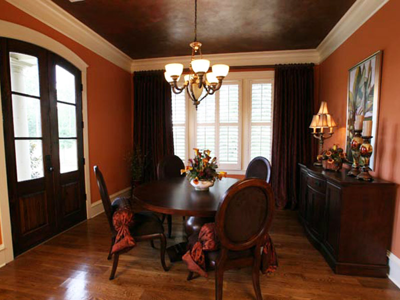 Arts & Crafts House Plan Dining Room Photo 02 - Briley Southern Craftsman Home 024S-0025 | House Plans and More