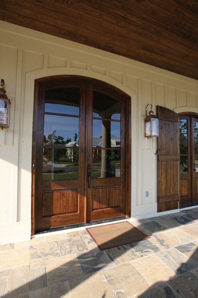 Arts & Crafts House Plan Door Detail Photo 02 - Briley Southern Craftsman Home 024S-0025 | House Plans and More