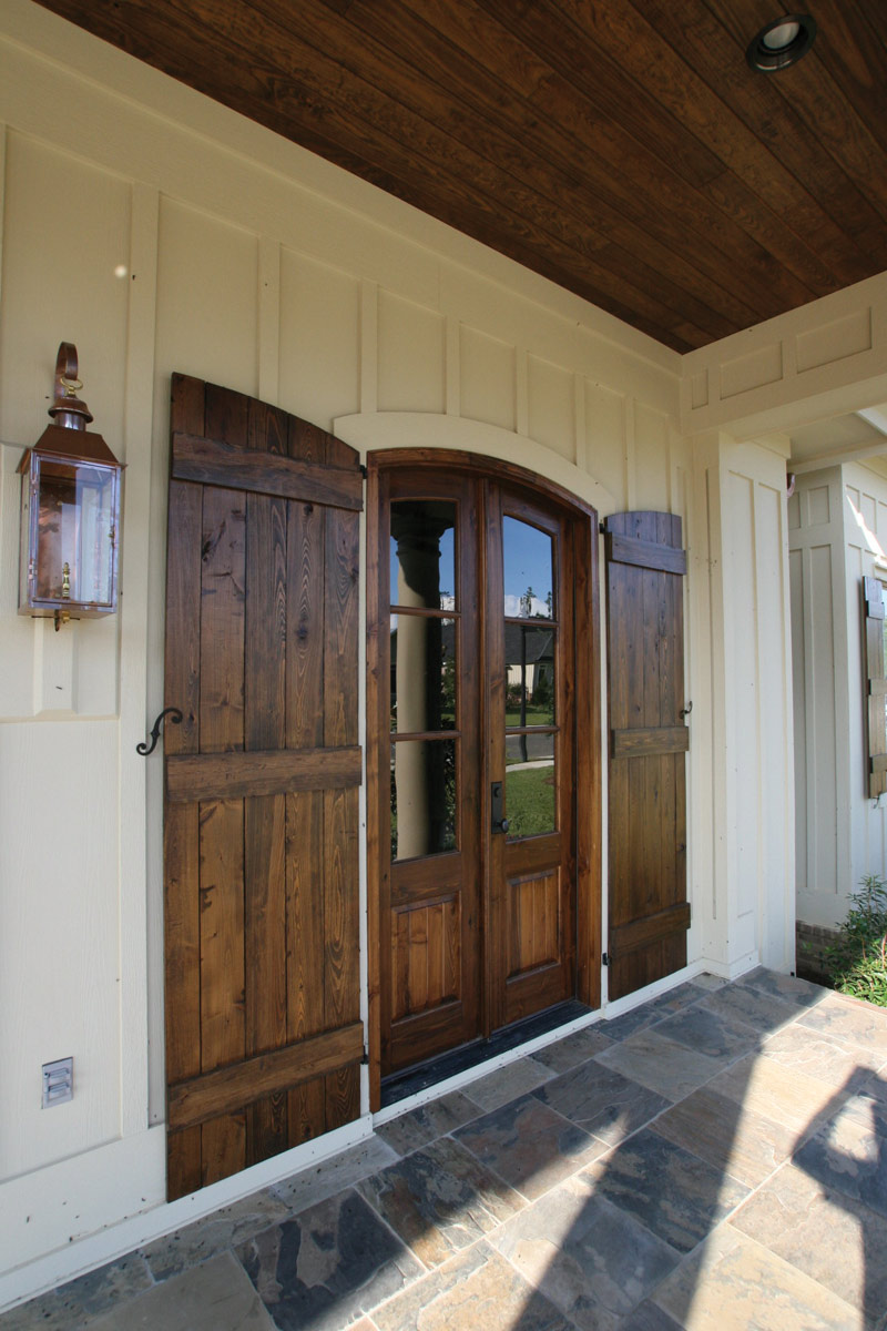 Arts & Crafts House Plan Door Detail Photo 03 - Briley Southern Craftsman Home 024S-0025 | House Plans and More