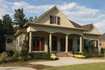Arts & Crafts House Plan Front of Home - Briley Southern Craftsman Home 024S-0025 | House Plans and More