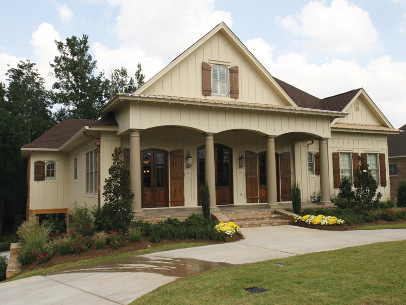 Arts & Crafts House Plan Front Photo 01 - Briley Southern Craftsman Home 024S-0025 | House Plans and More