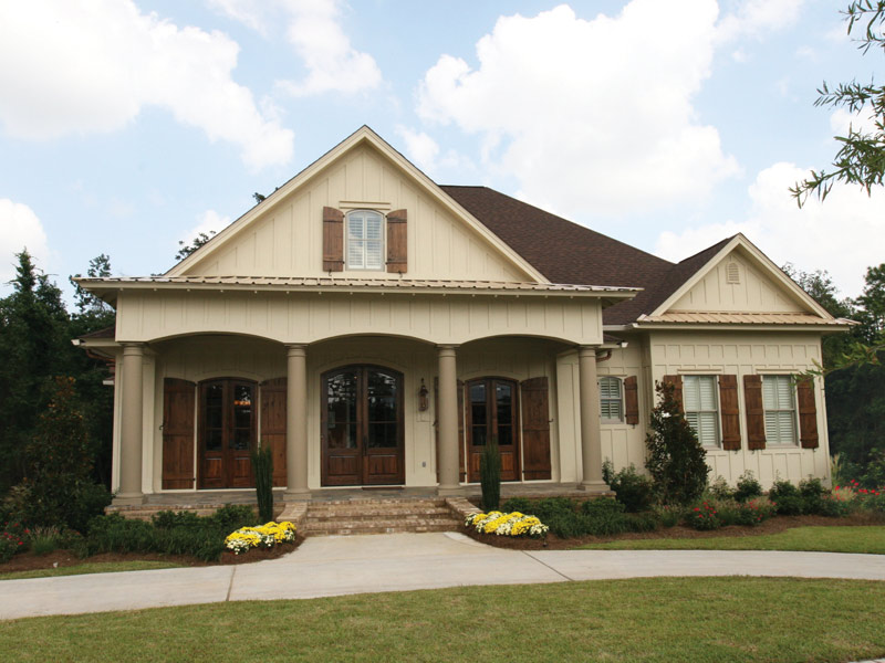 Arts & Crafts House Plan Front Photo 10 - Briley Southern Craftsman Home 024S-0025 | House Plans and More