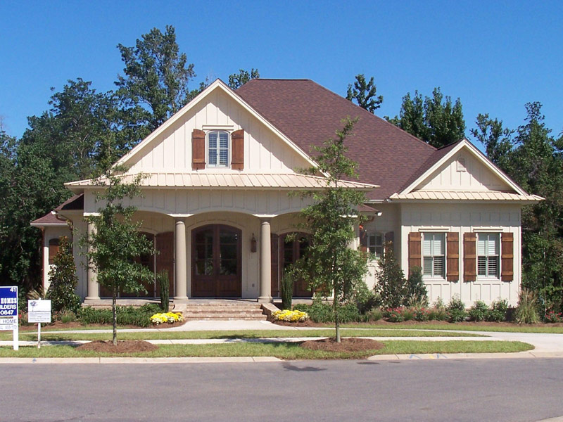 Arts & Crafts House Plan Front of Home Photo 12 - Briley Southern Craftsman Home 024S-0025 | House Plans and More