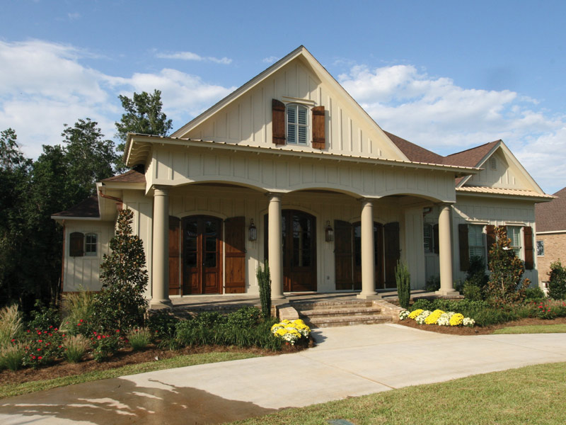 Arts & Crafts House Plan Front Photo 03 - Briley Southern Craftsman Home 024S-0025 | House Plans and More