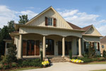Arts & Crafts House Plan Front Photo 06 - Briley Southern Craftsman Home 024S-0025 | House Plans and More