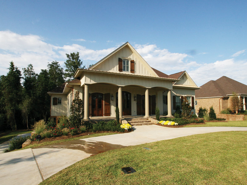 Arts & Crafts House Plan Front Photo 07 - Briley Southern Craftsman Home 024S-0025 | House Plans and More