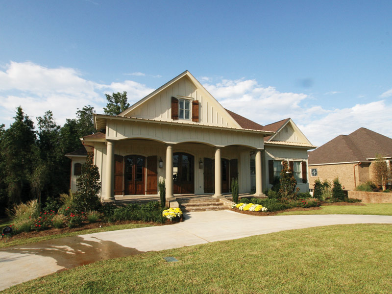 Arts & Crafts House Plan Front Photo 08 - Briley Southern Craftsman Home 024S-0025 | House Plans and More