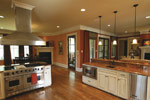 Arts & Crafts House Plan Kitchen Photo 10 - Briley Southern Craftsman Home 024S-0025 | House Plans and More