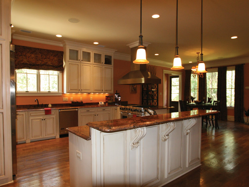 Arts & Crafts House Plan Kitchen Photo 11 - Briley Southern Craftsman Home 024S-0025 | House Plans and More