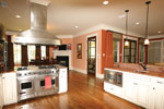 Arts & Crafts House Plan Kitchen Photo 06 - Briley Southern Craftsman Home 024S-0025 | House Plans and More