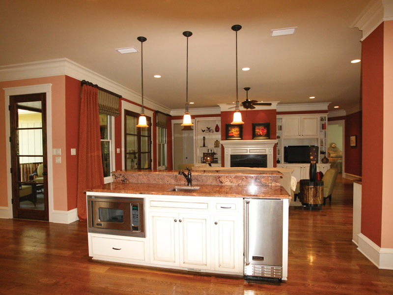 Arts & Crafts House Plan Kitchen Photo 07 - Briley Southern Craftsman Home 024S-0025 | House Plans and More