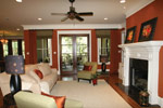 Arts & Crafts House Plan Living Room Photo 05 - Briley Southern Craftsman Home 024S-0025 | House Plans and More